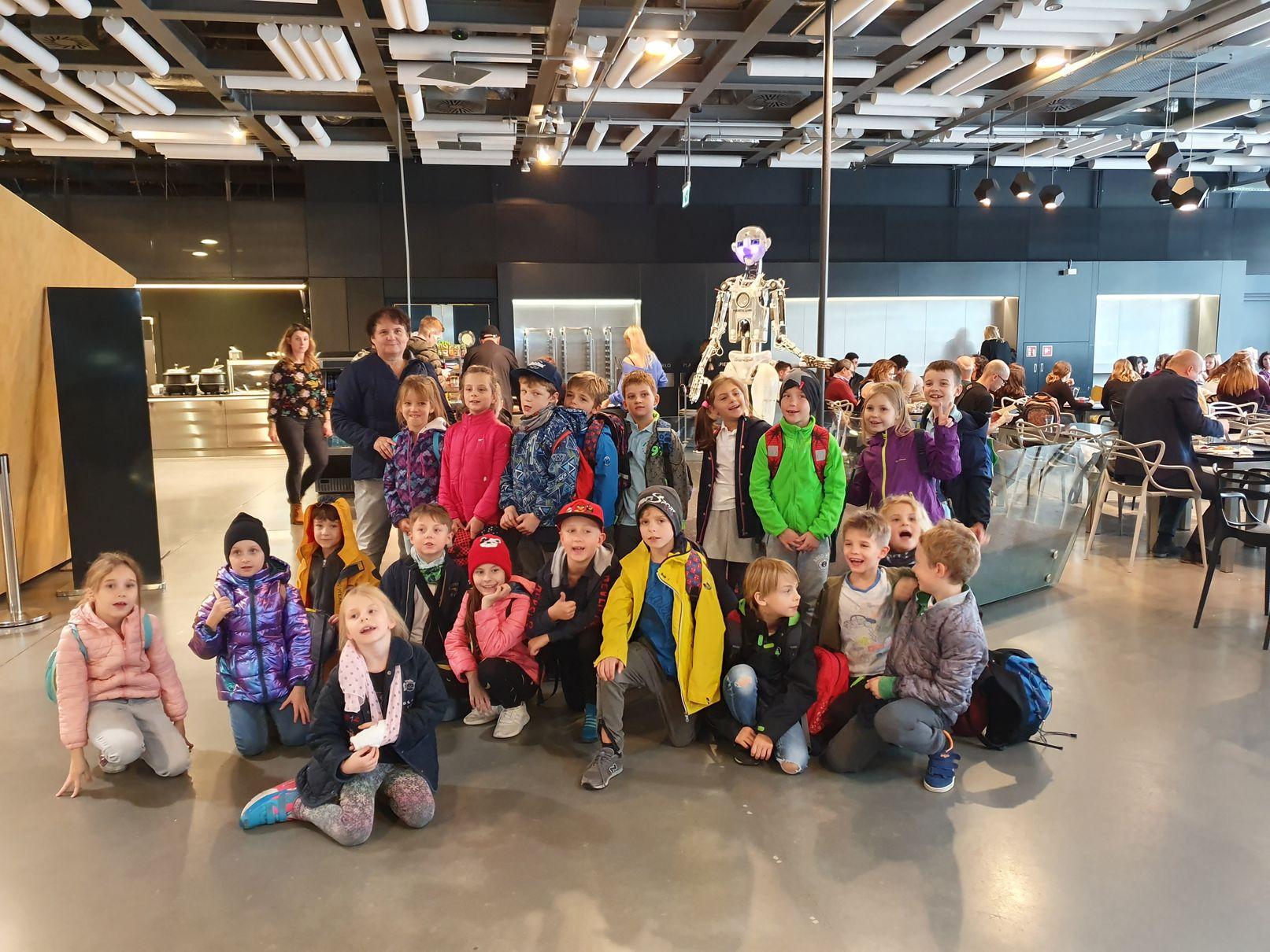 Wyjazd klas 2b i 2c do Centrum Nauki Kopernik