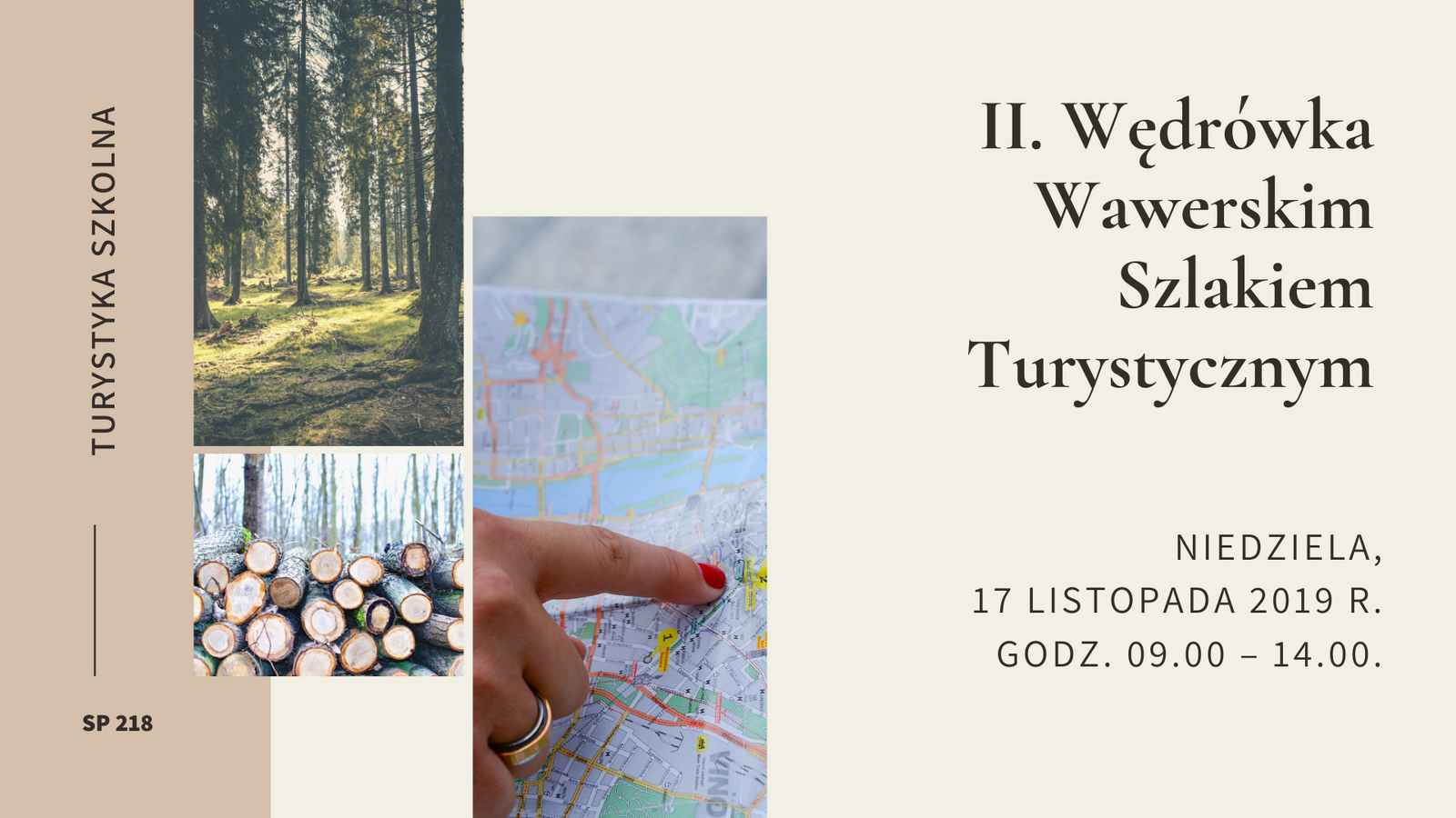 II. Wędrówka Wawerskim Szlakiem Turystycznym