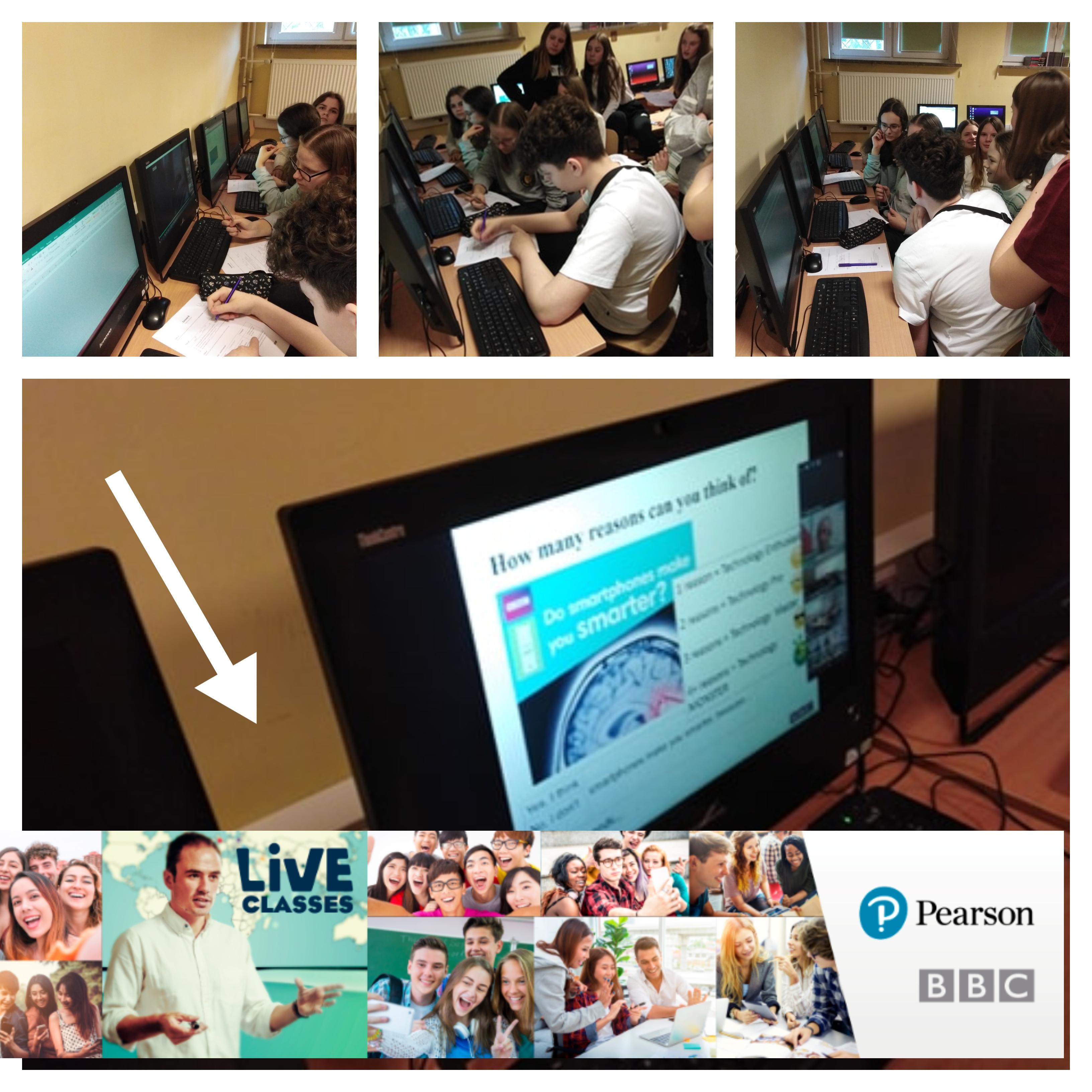 lekcja języka angielskiego - Live Class