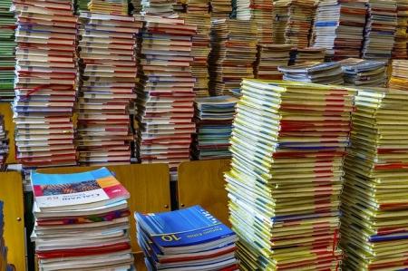 Zwroty podręczników, ceny i nr konta.