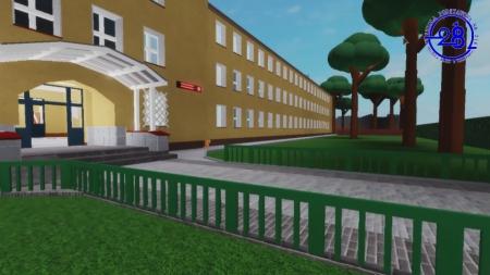 Model szkoły w Roblox - projekt edukacyjny 2019/2020