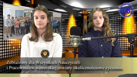 Pracownikom wawerskiej oświaty