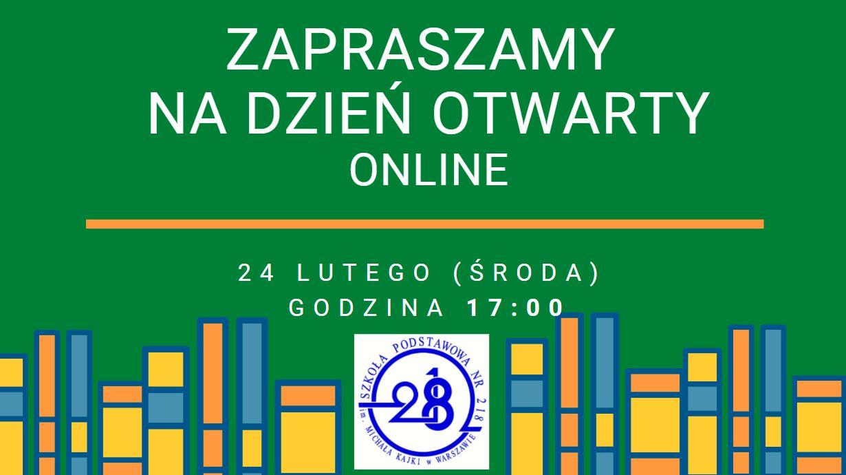 Dzień otwarty 24.02.2021