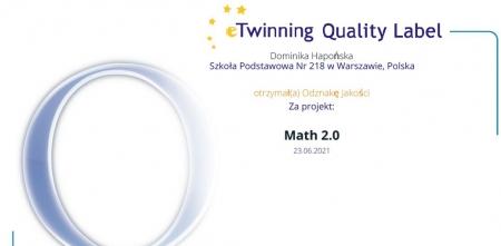 Krajowa Odznaka Jakości E-twinning.